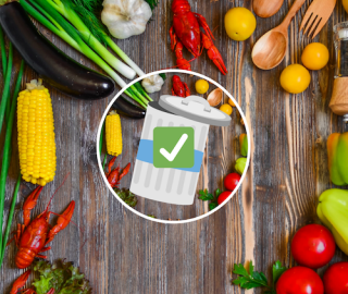 The role of food labeling in building consumers' awareness for reducing food waste