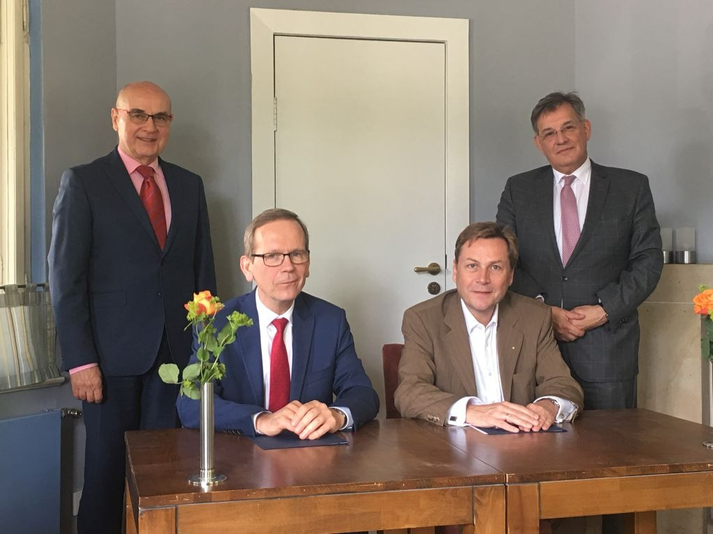 Cooperation of the PUEB with the University of Potsdam