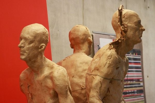 Exhibition of Grzegorz Gwiazda sculptures at the CEUE