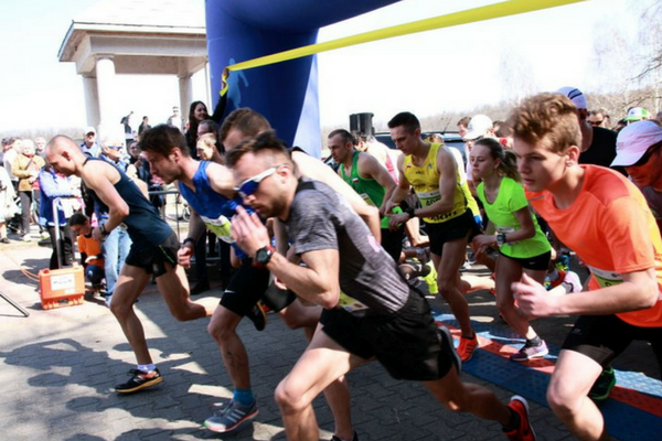 Over half a thousand of runners in the 8th Hendi Economic Five run