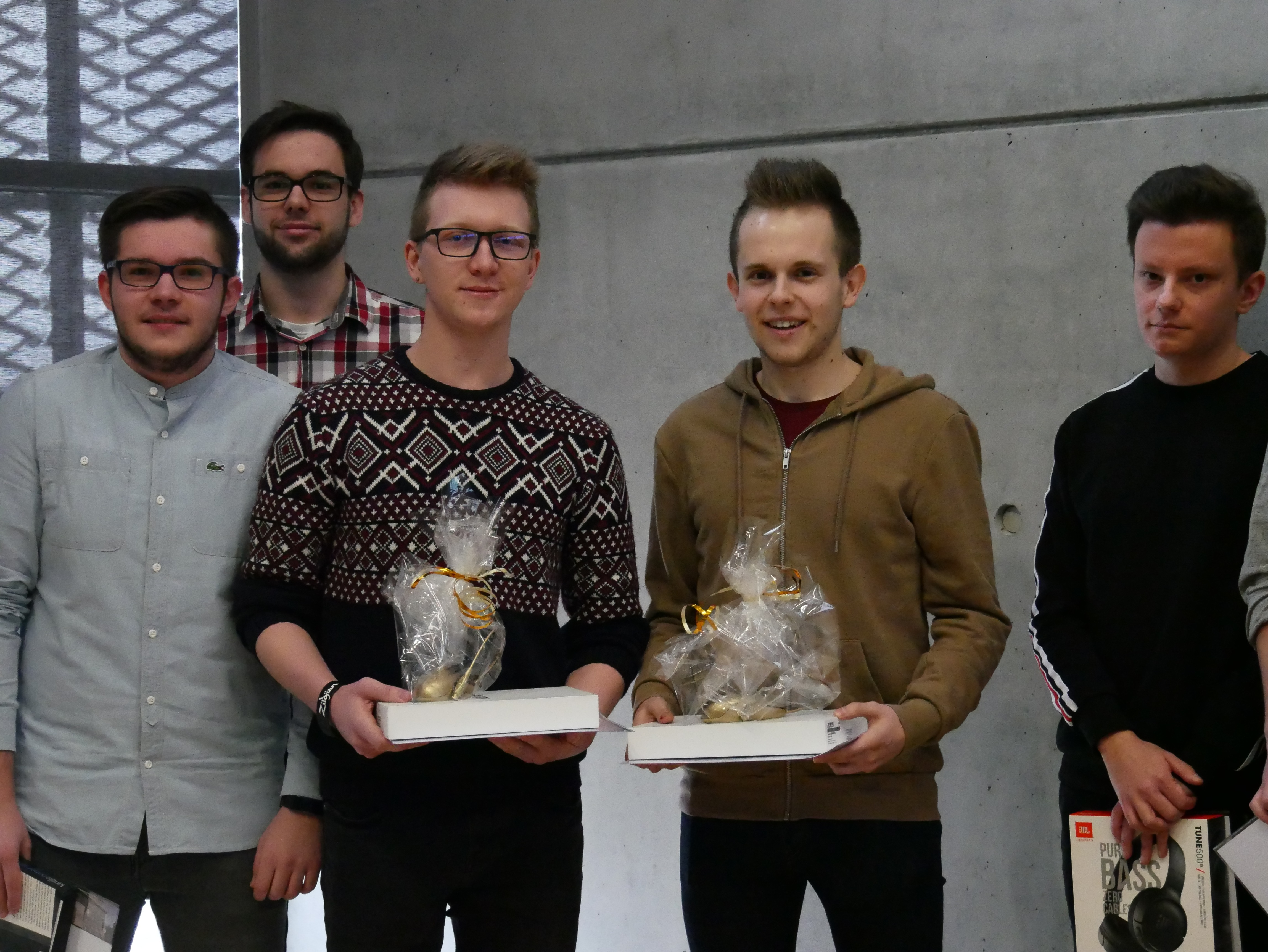 Winners of the Golden Mouse competition